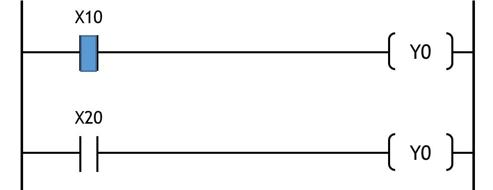 ダブルコイルの例1