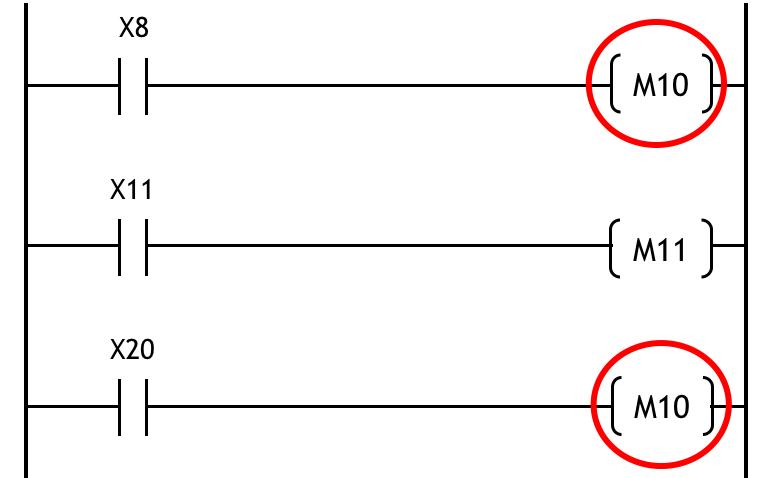 ダブルコイルの例2